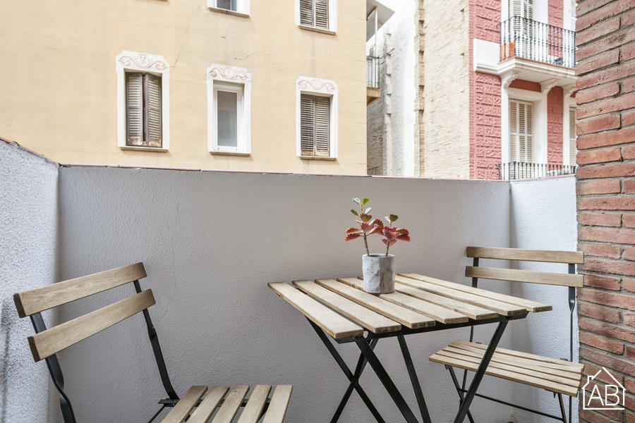 AB Mariano Cubi 211 - Beautiful Apartment for Two-People with Private Terrace in Gràcia - AB Apartment Barcelona
