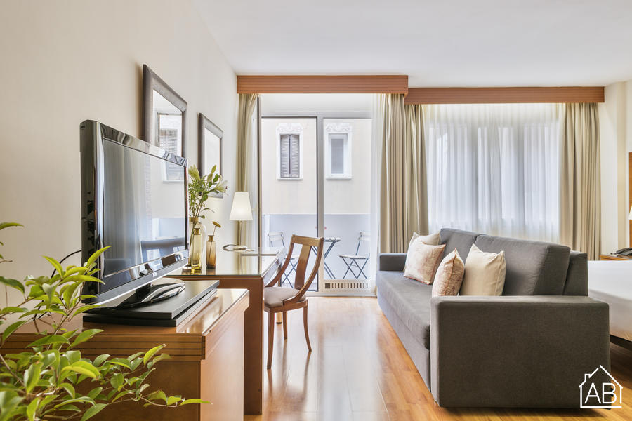 AB Mariano Cubi 212 - Stylish One-Bedroom Apartment with Private Terrace in Gràcia - AB Apartment Barcelona