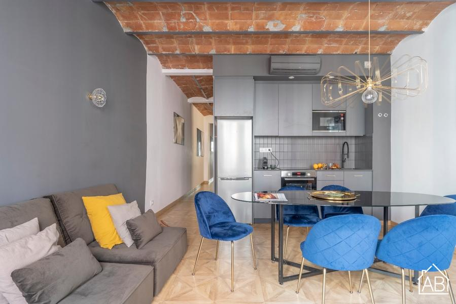 AB Escudellers E - Stylish Two-Bedroom Apartment with Balcony in the Gothic Quarter - AB Apartment Barcelona