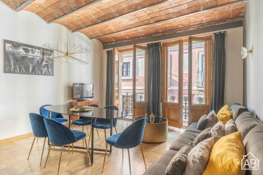 AB Escudellers 1 - Premium Two-Bedroom Apartment with Balcony in the Gothic Quarter - AB Apartment Barcelona