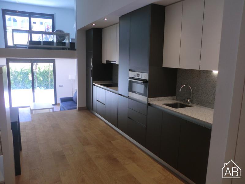 Pallars Duplex baixos 2 - AB Apartment Barcelona -