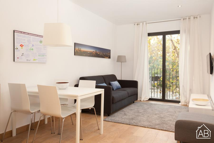 AB Pallars 2-2 - Stylish Two-Bedroom Apartment in Poblenou with Balcony - AB Apartment Barcelona