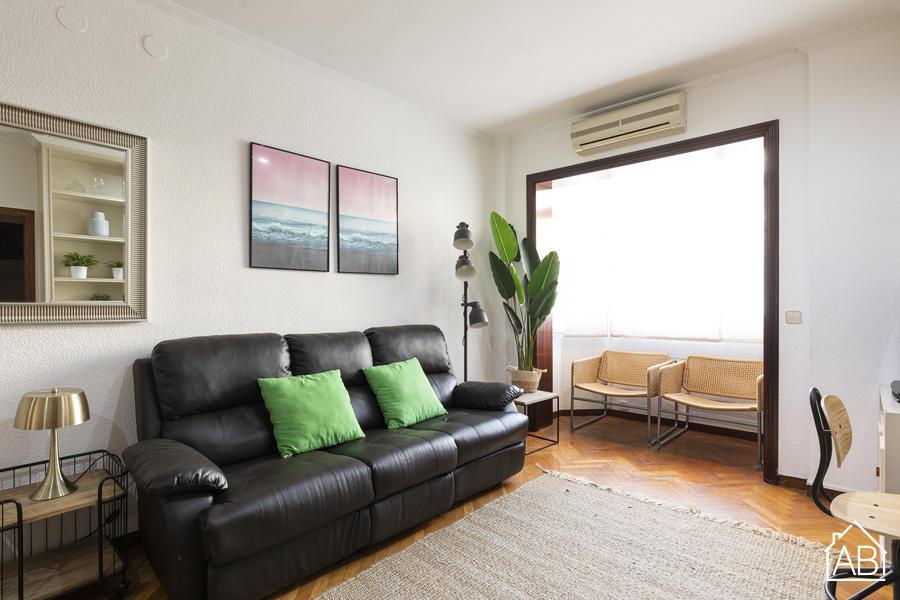 AB Eixample Gaudi - Luminoso Apartamento de tres Dormitorios al lado de la Sagrada Familia - AB Apartment Barcelona