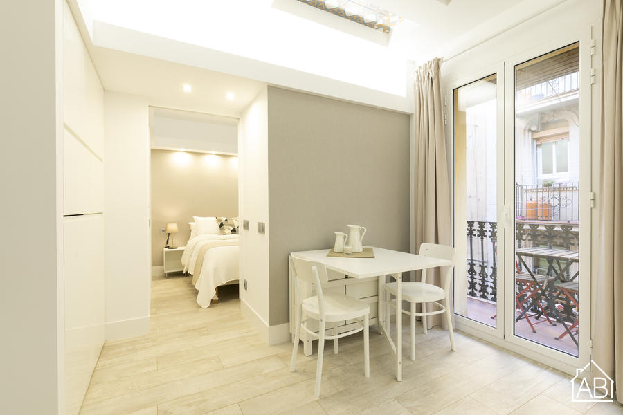 AB Barceloneta 1 room - Modern One-Bedroom Apartment in Barceloneta  - AB Apartment Barcelona
