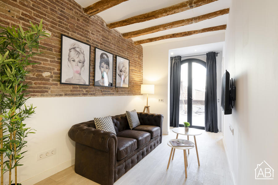 AB PobleNou - Elegant Two Bedroom Apartment in Poblenou - AB Apartment Barcelona