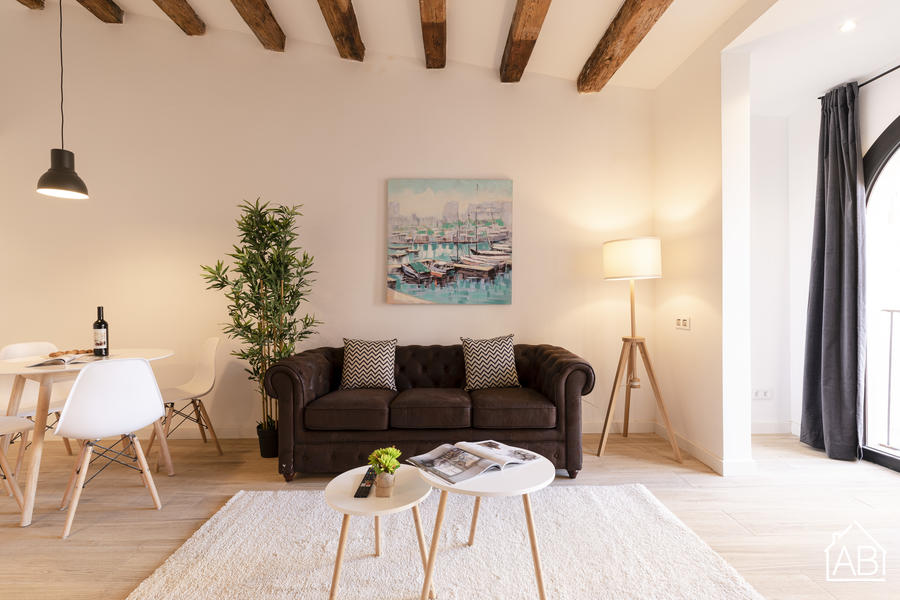 AB Poble Nou II - Spacious One-Bedroom Apartment in Poble Nou - AB Apartment Barcelona