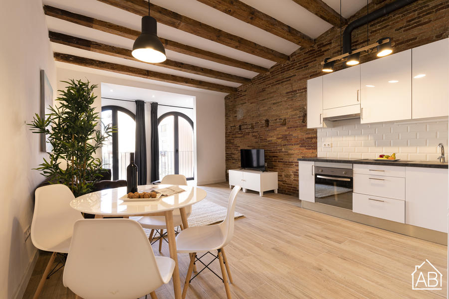 AB Poble Nou III - Stylish One-Bedroom Apartment in Poble Nou  - AB Apartment Barcelona