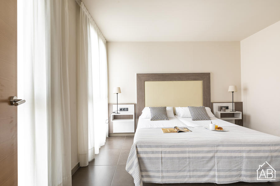 AB Sans 1 room 204 - Comfortable One-Bedroom Apartment in Sants - AB Apartment Barcelona