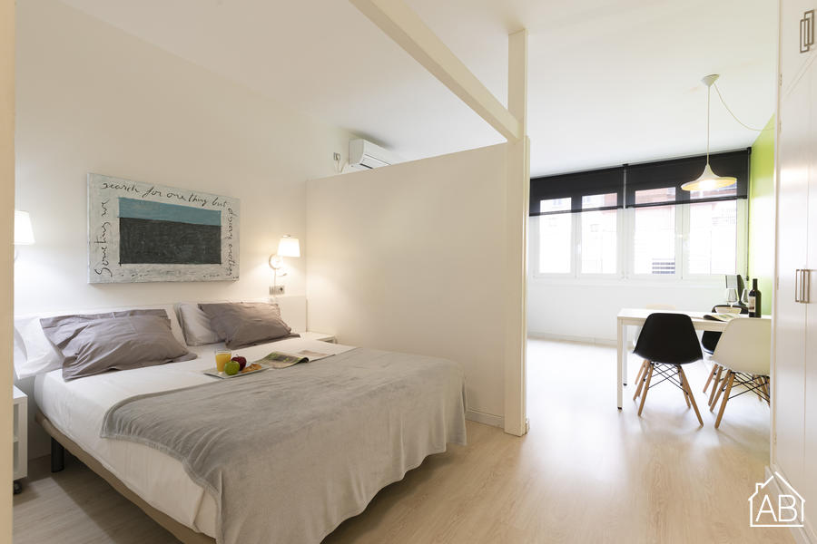 AB Centric Studios 207 - Eixample studio with communal terrace  - AB Apartment Barcelona