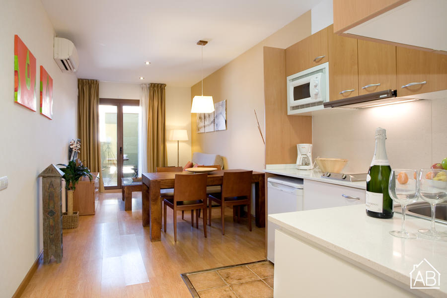 Ramblas Liceu Atic 502 - Great apartment with a roof terrace, close to Las Ramblas - AB Apartment Barcelona