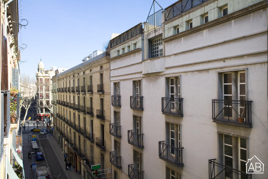 Ramblas Liceu 31 - Bright apartment with a Balcony, steps from Las Ramblas - AB Apartment Barcelona