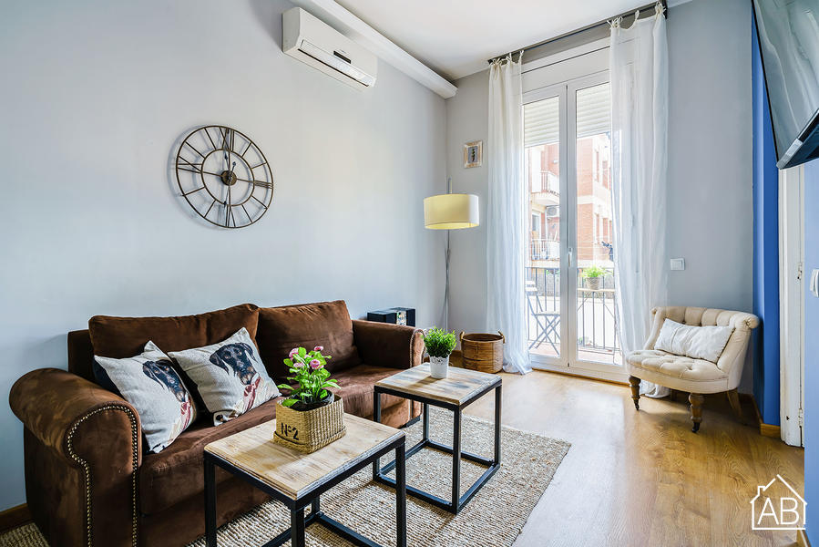 AB Eixample Calabria 1-3 - Two-Bedroom City Centre Apartment with Balcony - AB Apartment Barcelona
