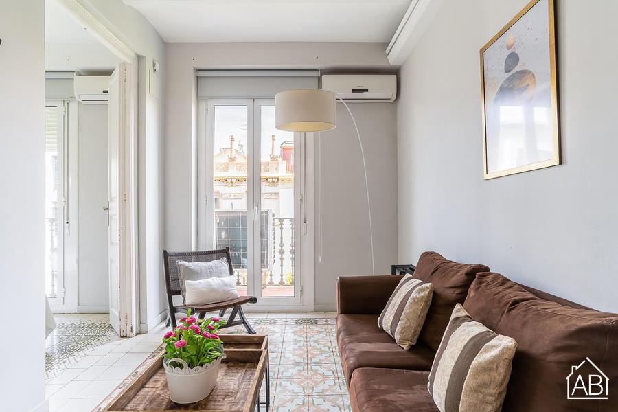 AB Eixample Calabria 4-1 - Elegantes Zwei-Zimmer-Apartment im Stadtzentrum - AB Apartment Barcelona