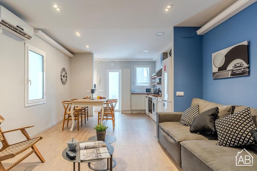 AB Eixample Calabria 5-4 - Elegante Apartamento de Dos Dormitorios en el Centro Ciudad - AB Apartment Barcelona