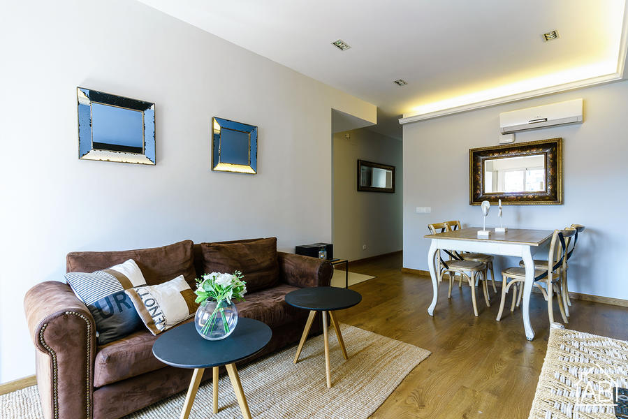 AB Eixample Calabria A-2 - Stylish Two-Bedroom Apartment in Eixample - AB Apartment Barcelona