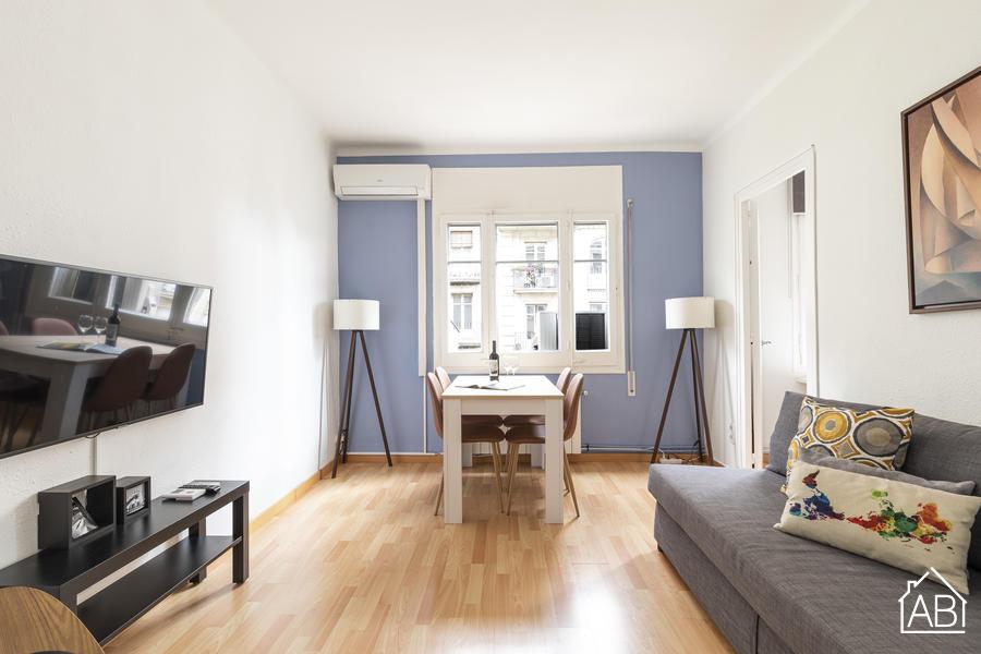 AB Barcelona Eixample - Spacious Three-Bedroom Eixample Apartment with Communal Terrace - AB Apartment Barcelona