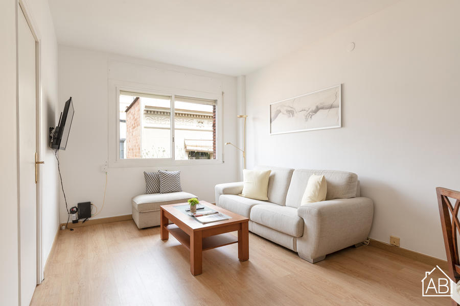 AB Center Diagonal - Bright & Spacious Two-Bedroom Gràcia Apartment  - AB Apartment Barcelona