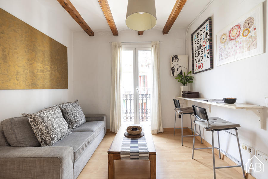 AB Poble Sec - Contemporáneo Apartamento de 2 Dormitorios con Balcón en Poble Sec - AB Apartment Barcelona