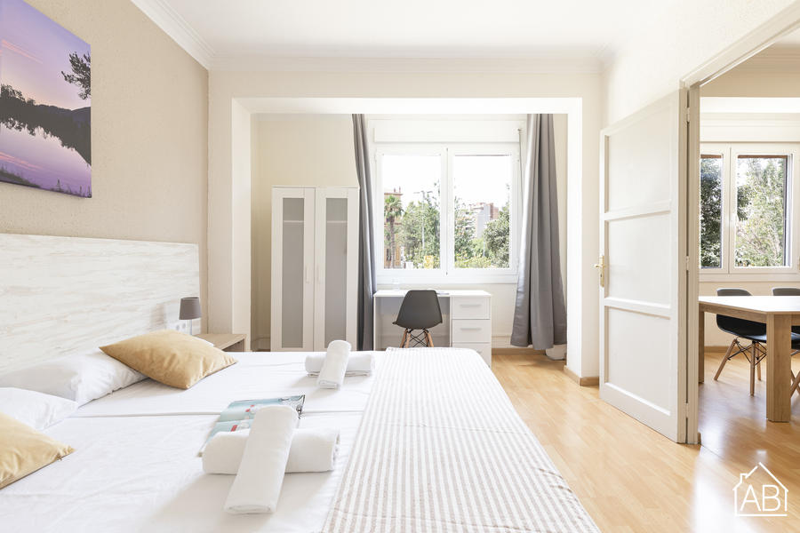 AB Monumental P-3 - Three-Bedroom Apartment with Interior Terrace in Eixample - AB Apartment Barcelona