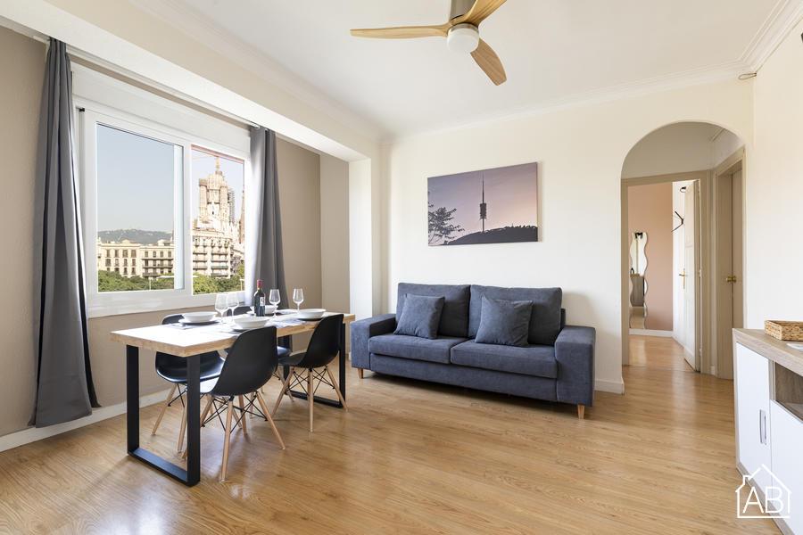 AB Monumental 3-3 - Three-Bedroom Apartment with Sagrada Familia Views  - AB Apartment Barcelona