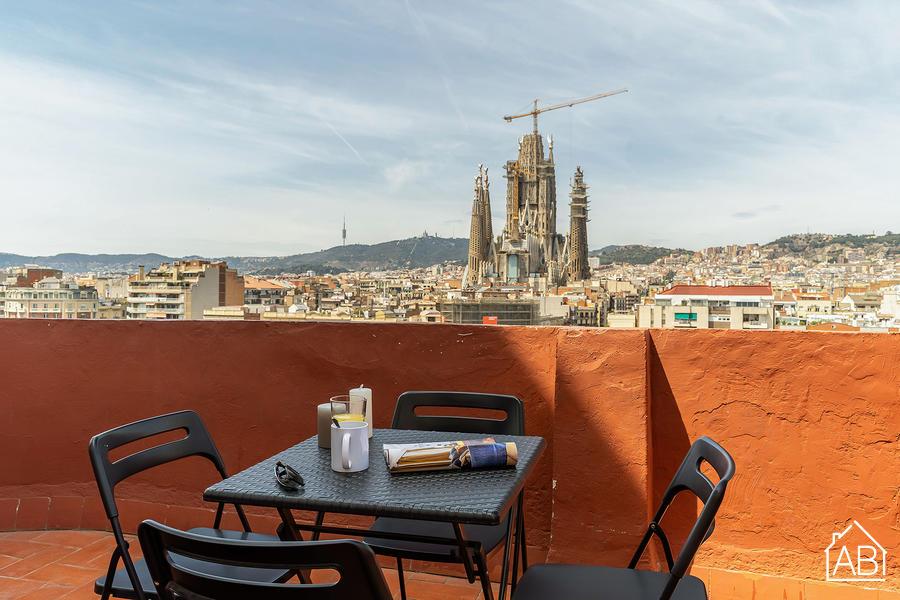 AB Monumental 8-2 - Appartement de Deux Chambres avec Terrasse Privée dans l´Eixample - AB Apartment Barcelona