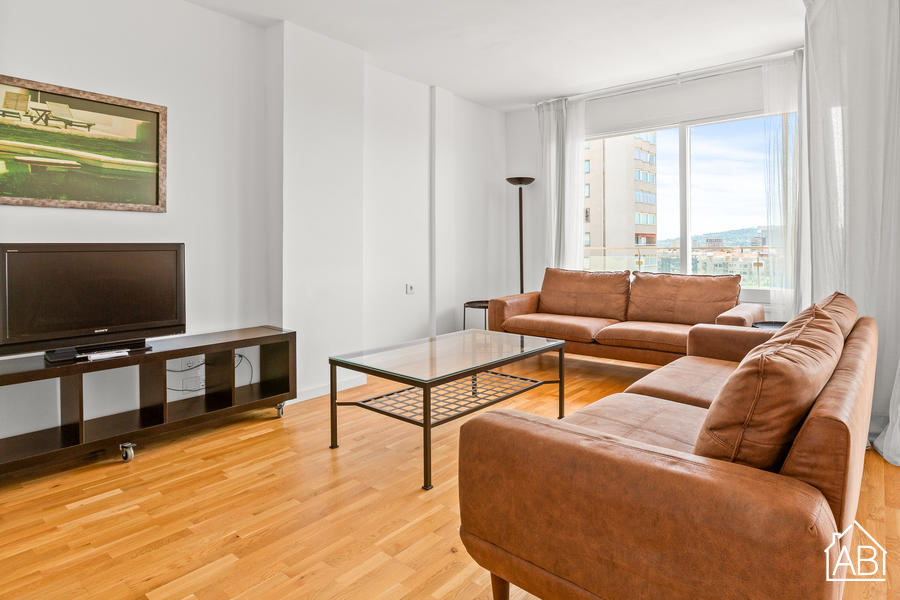 AB Les Corts Apartment - Four-Bedroom Apartment with Breathtaking Views in Les Corts - AB Apartment Barcelona