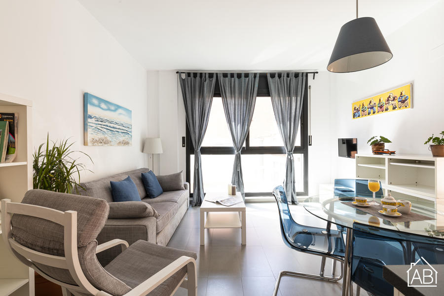 AB Plaça de Sants - Spacious Two-Bedroom Apartment with Communal Terrace in Sants - AB Apartment Barcelona