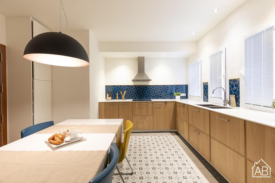 AB Plaza España - Moderno y Luminoso Apartamento de Dos Dormitorios en el Barrio de Sants - AB Apartment Barcelona