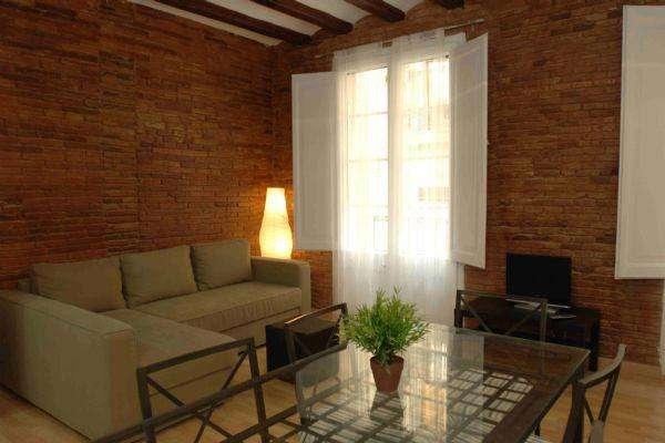 Ramblas building I-I - Appartamento ristrutturato in zona Ramblas - AB Apartment Barcelona