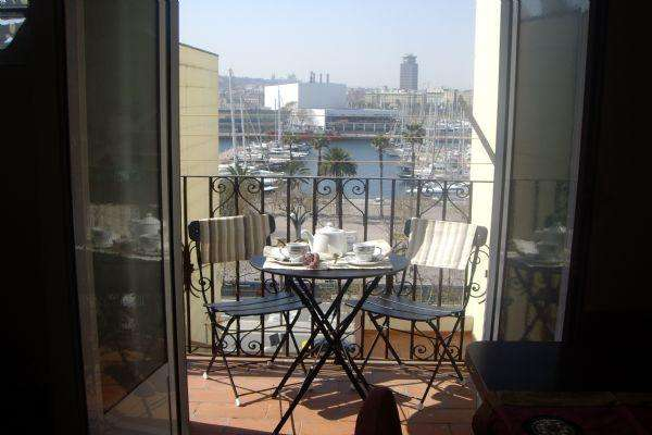 AB Mar II Apartment - Lovely apartment with a balcony facing the marina of Barcelona - AB Apartment Barcelona