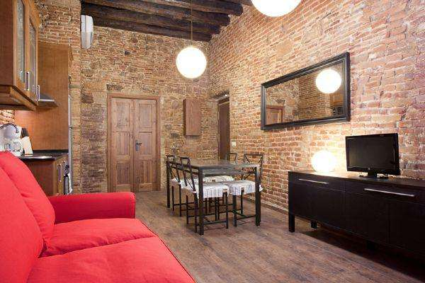 Museo Picasso 2 - Modern, Rustic-style Apartment in El Born - AB Apartment Barcelona