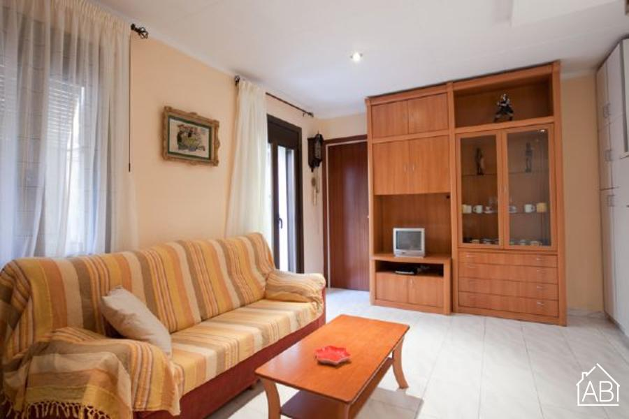 AB Pescadores I - Comfortable apartment situated right next to the beach - AB Apartment Barcelona