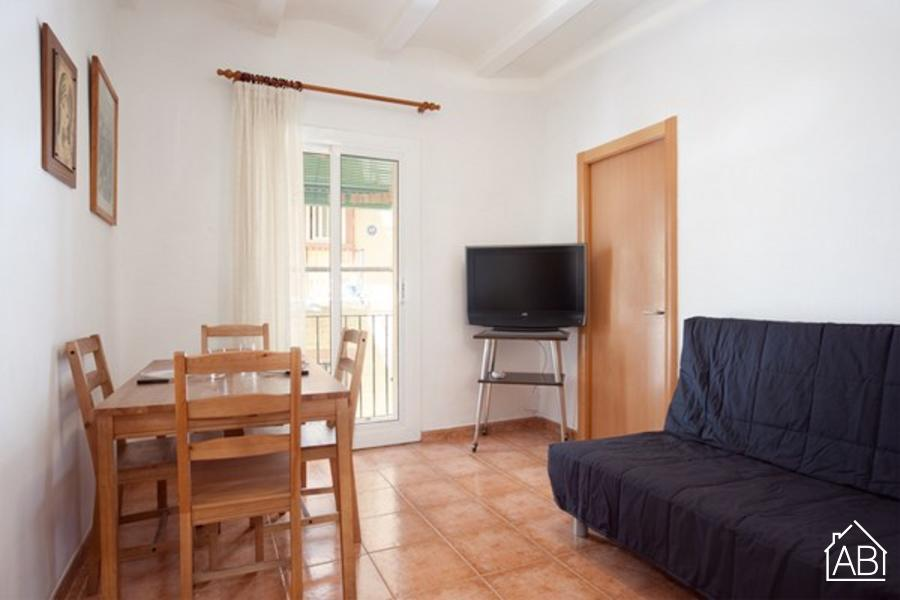 AB Atlantida - Lovely apartment with a balcony in La Barceloneta - AB Apartment Barcelona
