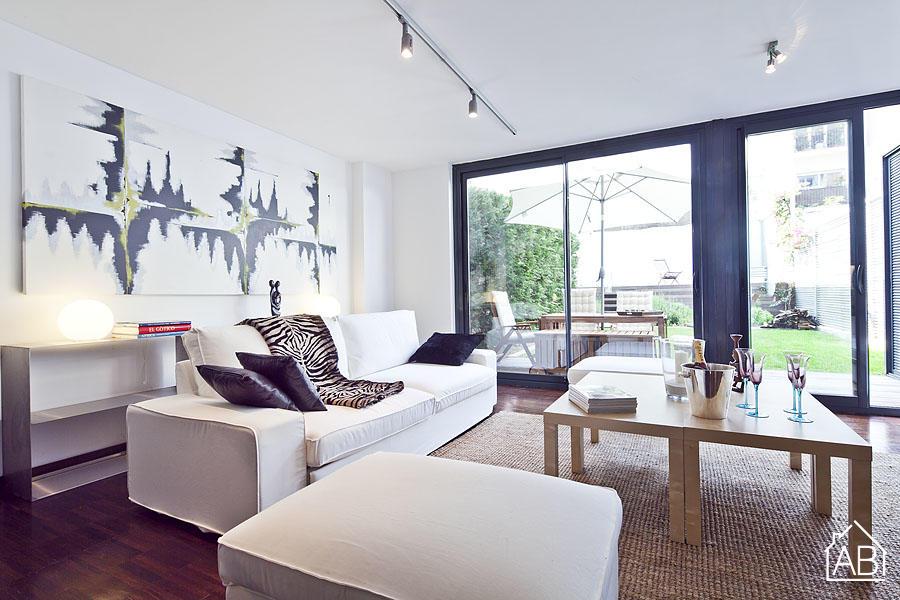 AB Summer Garden 2 Apartment - Incroyable appartement de luxe avec piscine à Barcelone. - AB Apartment Barcelona