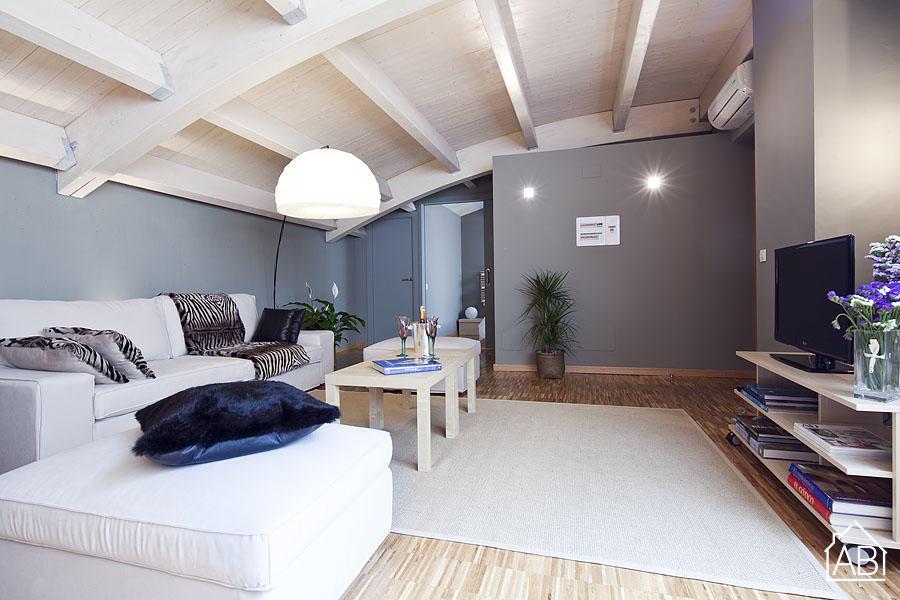 AB San Gervasi Funny Apartment - Просторные апартаменты в Барселоне на 6 человек - AB Apartment Barcelona