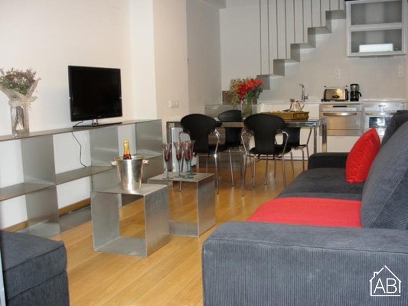 AB Gaudi Arc de Triomf Apartment - Trendy Duplex con Terrazzo e Piscina Condominiali - AB Apartment Barcelona