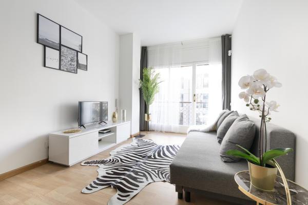 Astonishing 1 Bedroom Apartments Barcelona Ab Apartment Barcelona Interior Design Ideas Gentotthenellocom